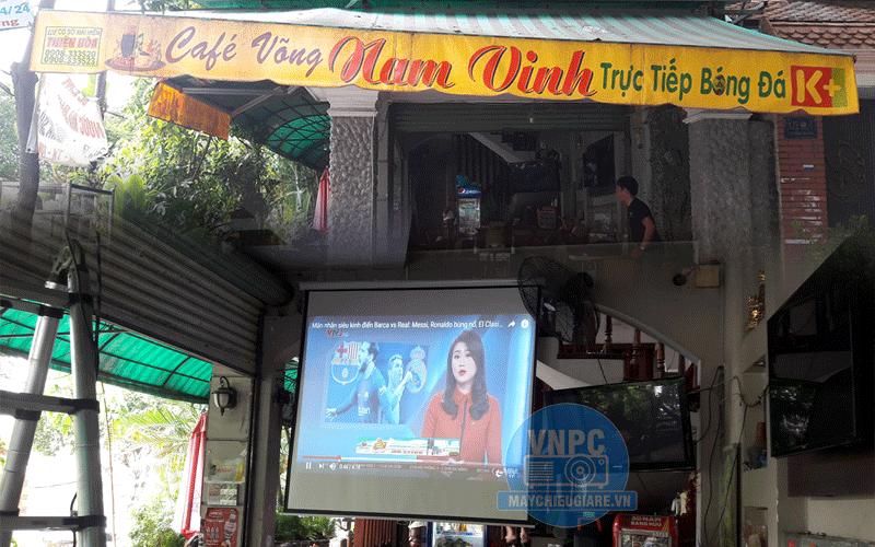 Lắp đặt máy chiếu cho quán cafe K+ giá rẻ tại Q.Tân Bình TpHCM