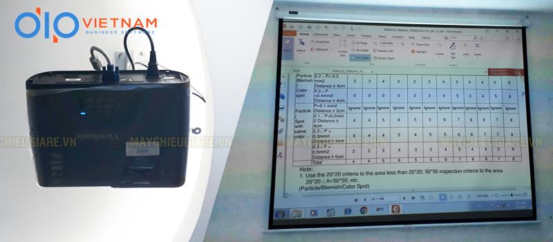 Lắp đặt máy chiếu văn phòng hội họp tại DIP Việt Nam
