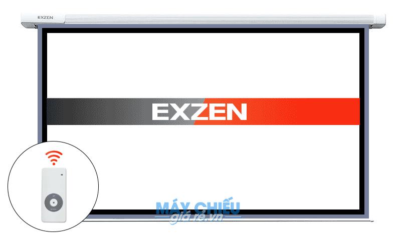Màn chiếu điện chính hãng EXZEN giá rẻ nhất Toàn Quốc