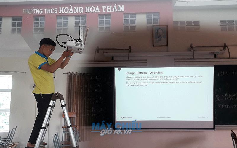 Lắp đặt máy chiếu cho trường học, phòng học chuyên nghiệp