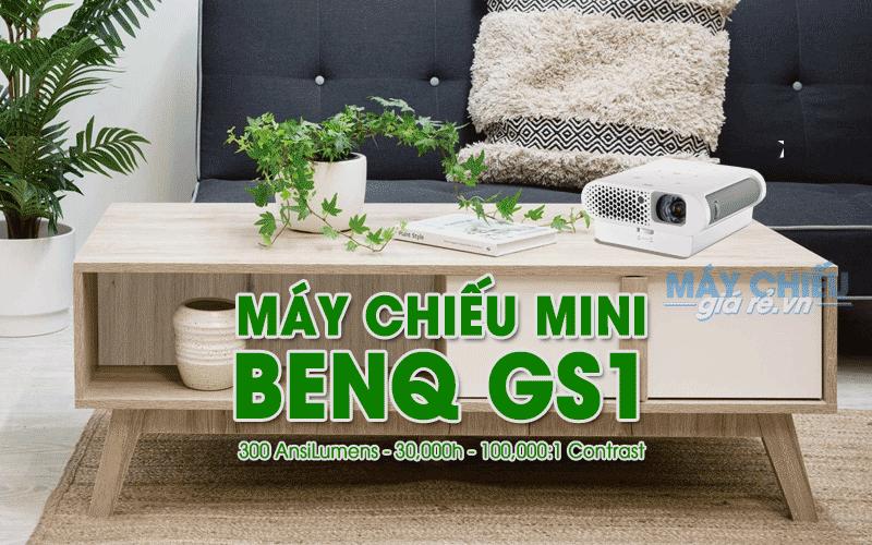 Máy chiếu mini BenQ GS1 độ phân giải HD chính hãng giá rẻ