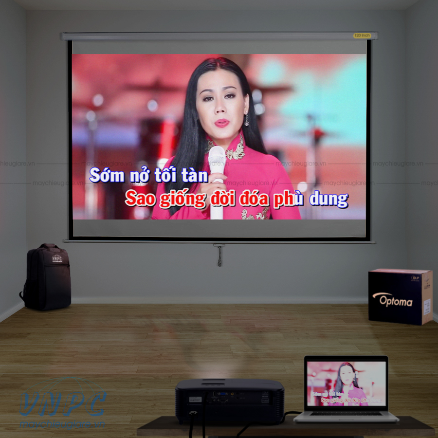 Optoma PX390 máy chiếu dùng hát karaoke tại nhà