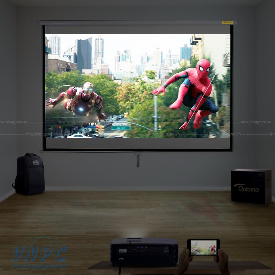 Optoma PX390 máy chiếu phim HD 3D dành cho phòng phim gia đình
