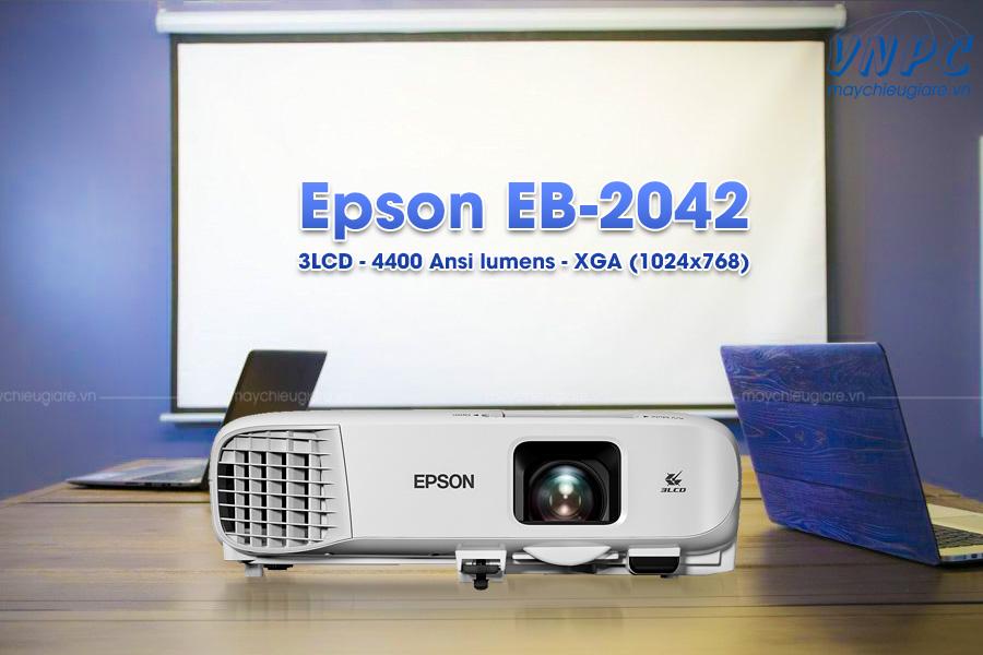 Epson EB-2042 máy chiếu 3LCD độ sáng cao 4400 Ansilumens