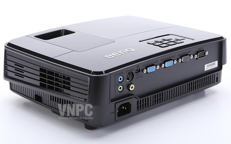 BenQ MS506 hỗ trợ đầy đủ các chuẩn giao tiếp, dễ dàng kết nối với máy tính xách tay