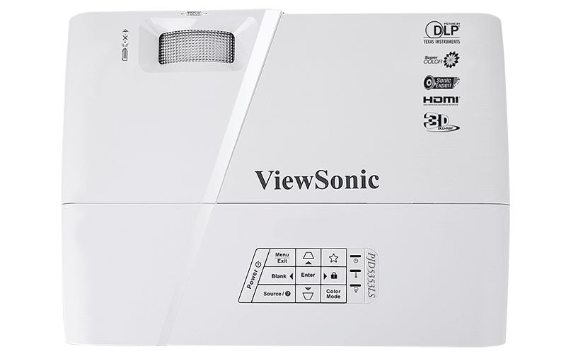 Máy chiếu ViewSonic PJD5353LS chuyên dụng cho nhu cầu giải trí 3D tại gia