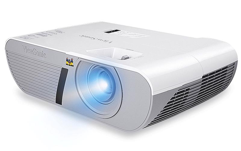 Máy chiếu ViewSonic PJD5555LW có khả năng trình chiếu Full HD 3D
