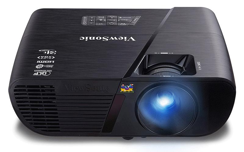 ViewSonic PJD5555W cung cấp hình ảnh chất lượng về độ sáng và màu sắc
