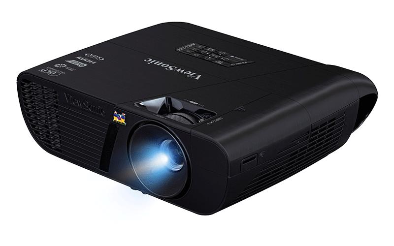 ViewSonic PJD7526W rất phù hợp nhu cầu chiếu phim HD 3D gia đình
