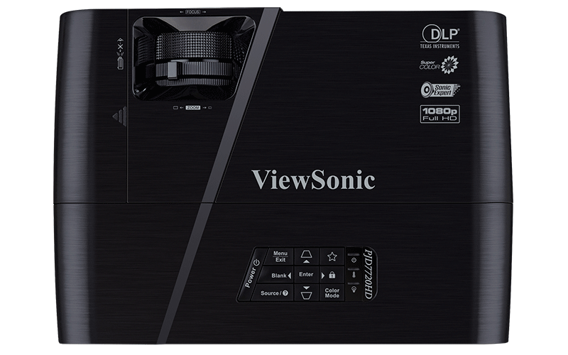 ViewSonic PJD7722HD vớihệ số tương phản cao 22000:1