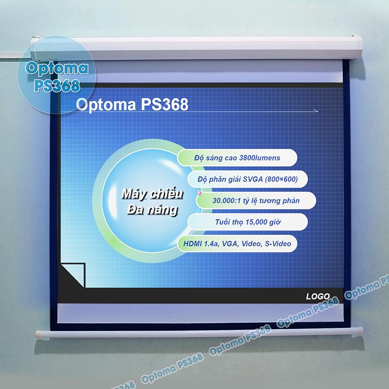 Sử dụng máy chiếu Optoma chiếu PowerPoint phục vụ thuyết trình văn phòng