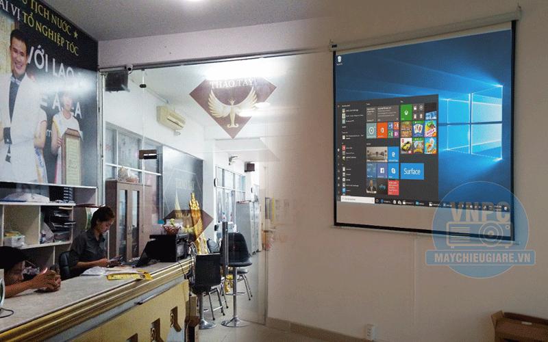 Lắp máy chiếu dùng dạy học đào tạo Optoma PS368 tại Gò Vấp