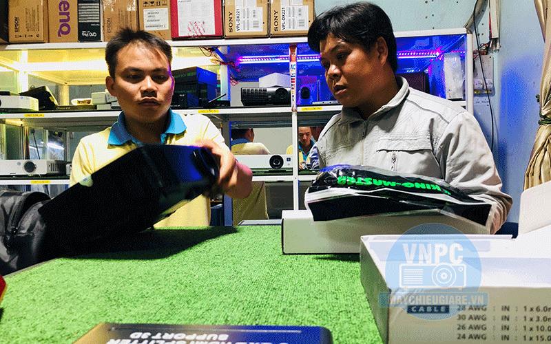 Máy chiếu Optoma PS368 giá rẻ cho khách hàng tại Đắk Lắk