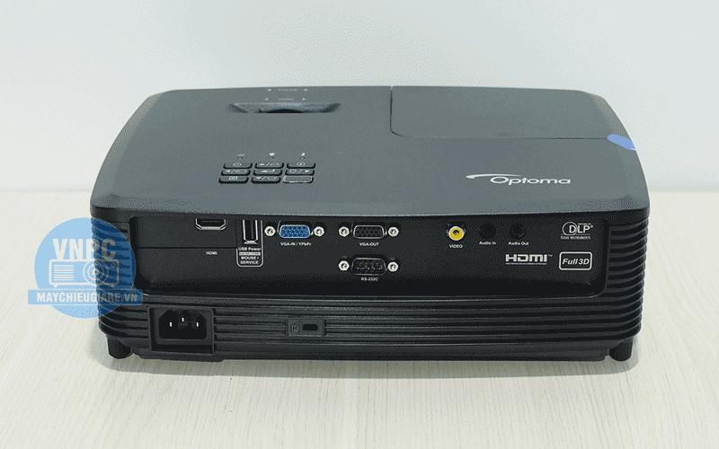 Máy chiếu Optoma PX390 trang bị cổng kết nối đa dạng