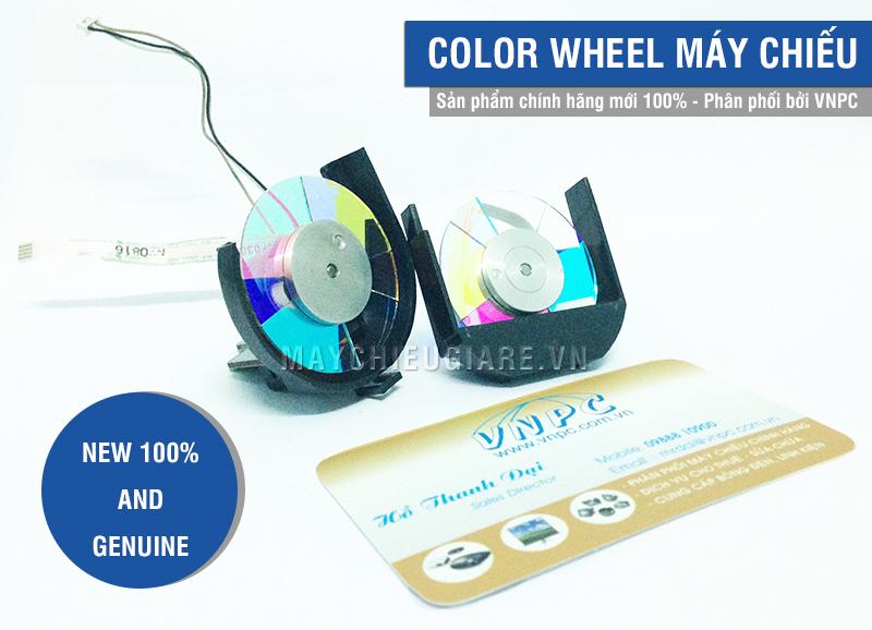 Color wheel máy chiếu chính hãng giá rẻ tại TPHCM & Hà Nội