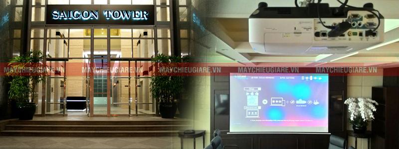 Lắp máy chiếu cho phòng họp chuyên nghiệp tại Saigon Tower