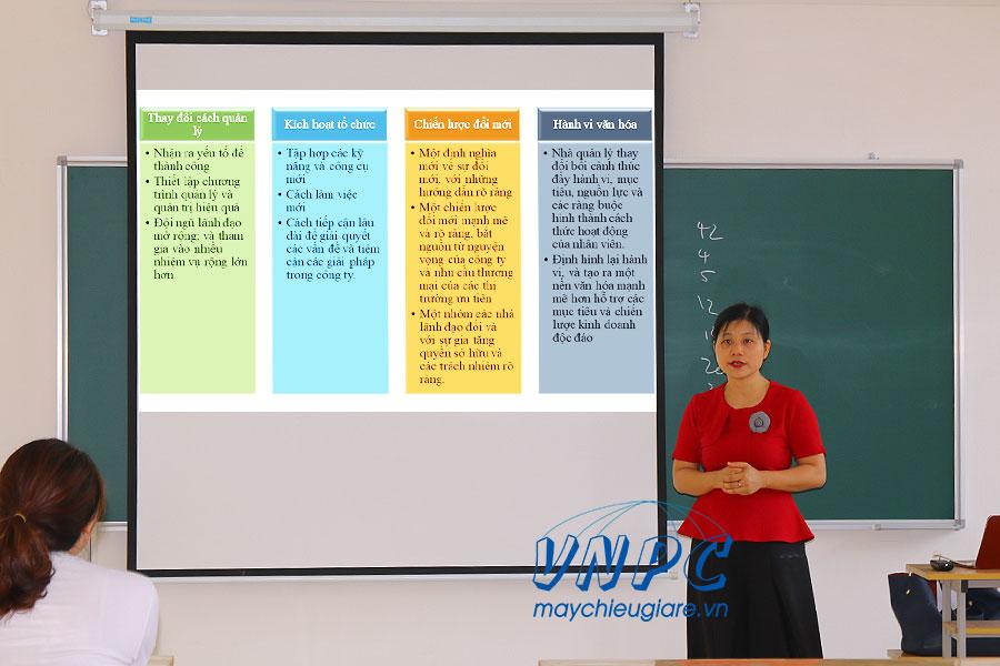 Máy chiếu dạy học dùng cho giảng dạy tốt nhất 2020