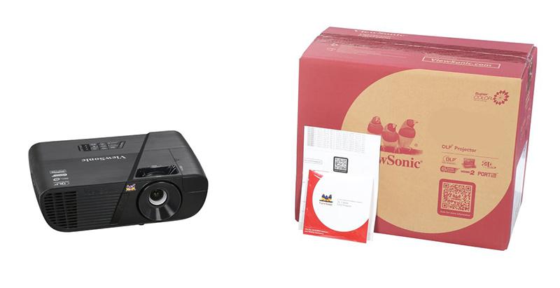 Máy chiếu ViewSonic PJD255XV cho nhu cầu xem phim tại gia đình