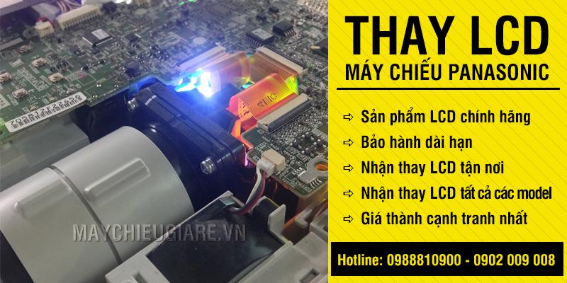 Thay LCD máy chiếu Panasonic giá rẻ nhất HCM, Hà Nội
