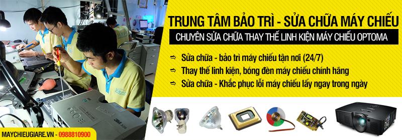 Sửa máy chiếu Optoma giá rẻ lấy ngay trong ngày tại TpHCM, Hà Nội