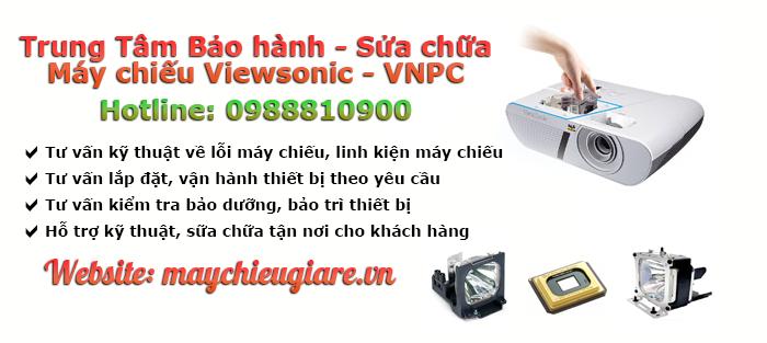 VNPC chuyên bảo hành sữa chữa máy chiếu ViewSonic