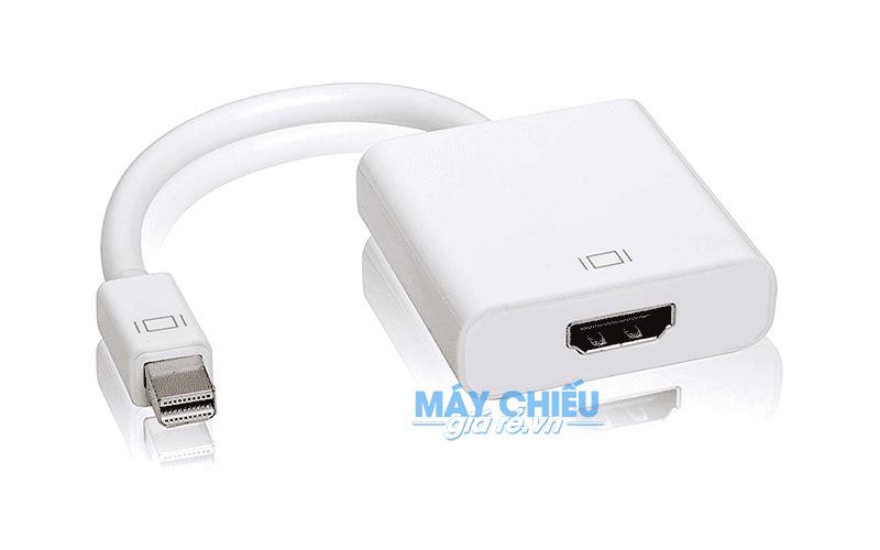 Cáp Mini DisplayPort to HDMI kết nối Macbook với Máy chiếu