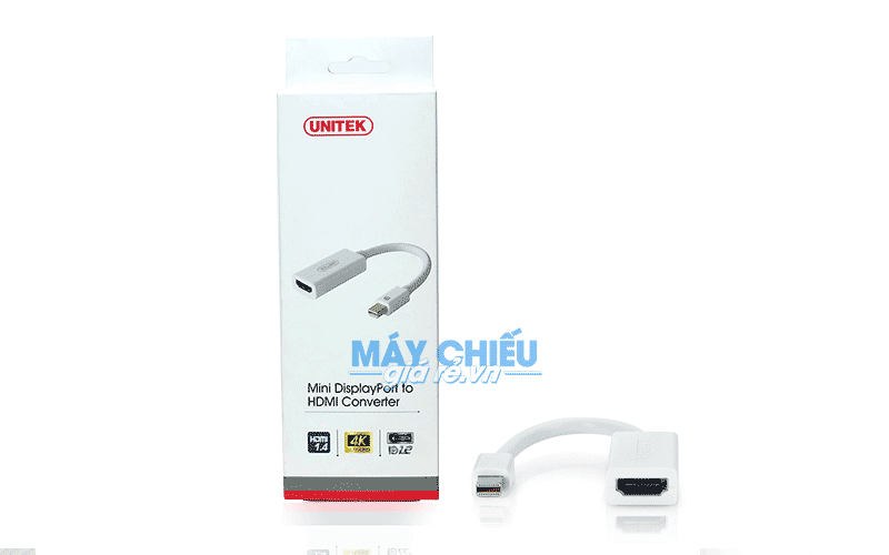 Cáp Mini DisplayPort to HDMI chính hãng Unitek