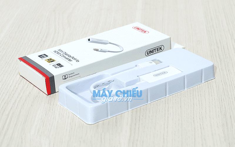 Cáp chuyển Mini DisplayPort sang VGA chính hãng Unitek