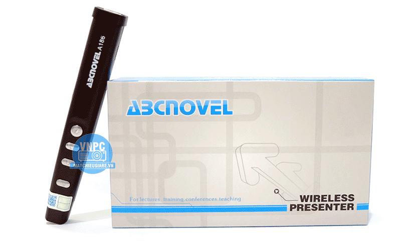 Bút trình chiếu ABCNOVEL A186 sử dụng 1 pin AAA