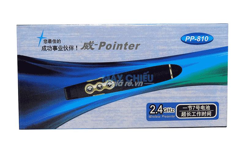 Bút trình chiếu PP-810 sử dụng 1 pin AAA