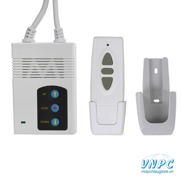 Bộ điều khiển màn chiếu điện và remote màn chiếu