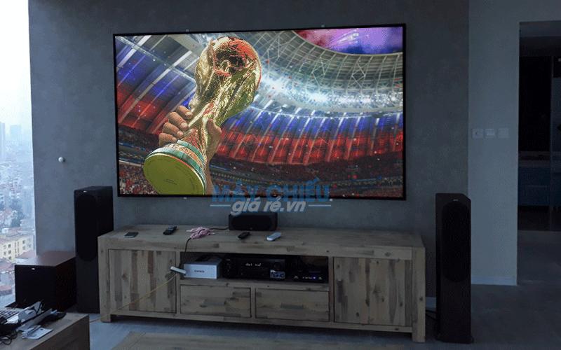 Màn chiếu khung chất lượng cao cho phòng phim Full HD 3D