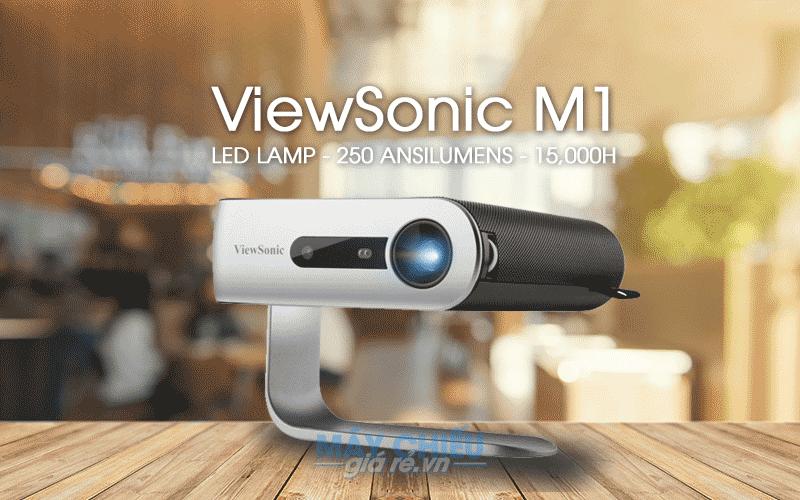 ViewSonic M1 thuộc dòng máy chiếu mini nhỏ gọn