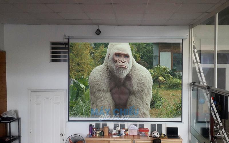 Lắp đặt máy chiếu 4K xem phim gia đình giá rẻ nhất toàn quốc