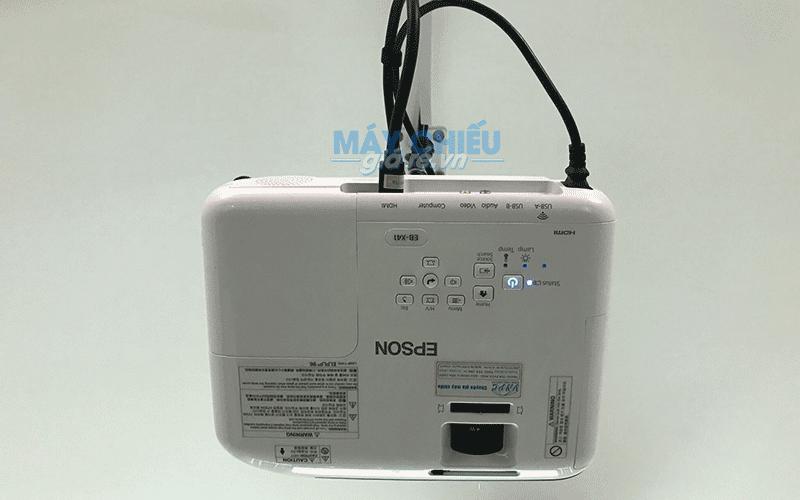 Lắp đặt máy chiếu Epson EB-X41 và màn chiếu treo tường 120 inch