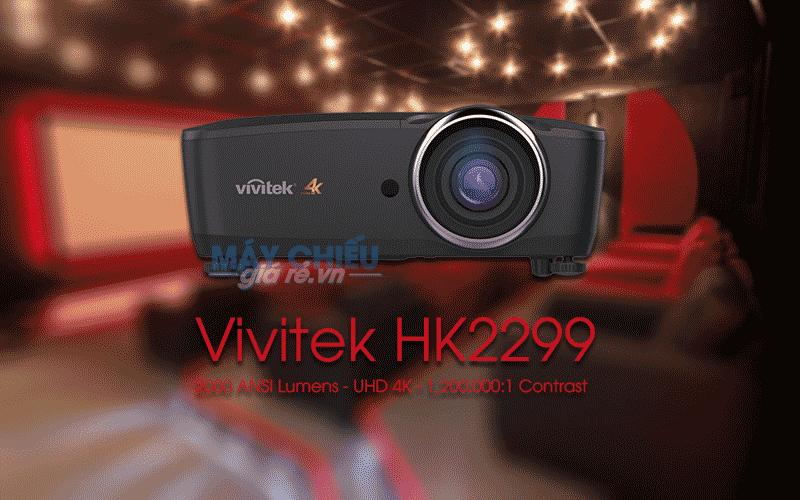 Máy chiếu Vivitek HK2299 độ phân giải 4K giải trí phim cao cấp