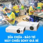 Sửa chữa bảo trì máy chiếu sony giá rẻ tại VNPC