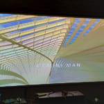 VNPC lắp đặt màn chiếu khung tương phản cao