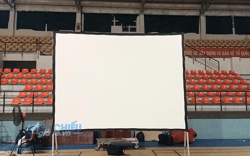 Cho thuê màn chiếu khung gấp 200 inch giao tận nơi tại TpHCM