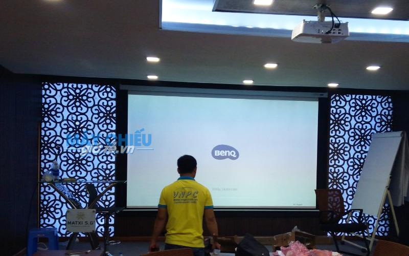 Lắp đặt máy chiếu phòng chiếu hội họp tại MATXI S.G TpHCM