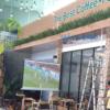 Lắp máy chiếu K+ cho quán cafe VIVA STAR COFFEE tại TpHCM