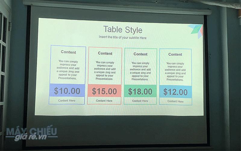 Điểm danh 10 máy chiếu Slide PowerPoint văn phòng giá rẻ nhất
