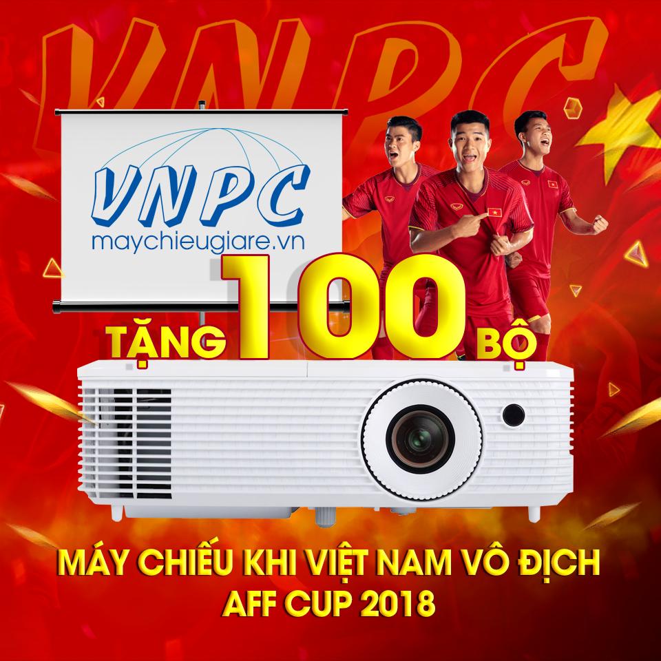 Tặng 100 Bộ Máy Chiếu Mừng Đội Tuyển Việt Nam Vô Địch AFF Cup 2018