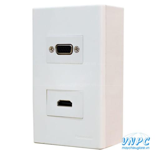 Bộ wallplate HDMI-VGA chính hãng giá rẻ tại VNPC