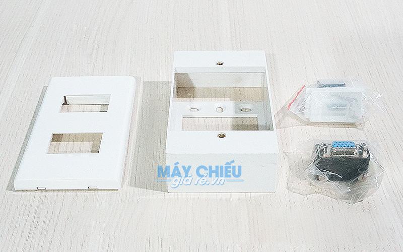 Hộp nối HDMI, VGA âm tường chính hãng giá rẻ nhất Toàn Quốc