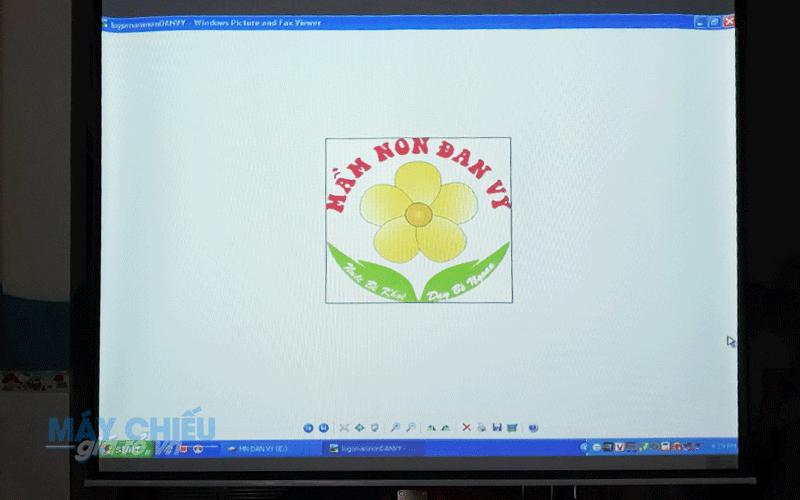 Lắp đặt máy chiếu cho lớp học mẫu giáo Đan Vy tại TpHCM