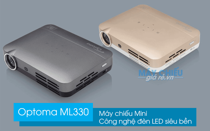 Review Optoma ML330 | Máy chiếu Mini Công nghệ đèn LED siêu bền