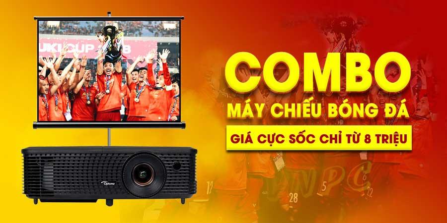 Khuyến mại máy chiếu bóng đá xem Asian cup giá rẻ