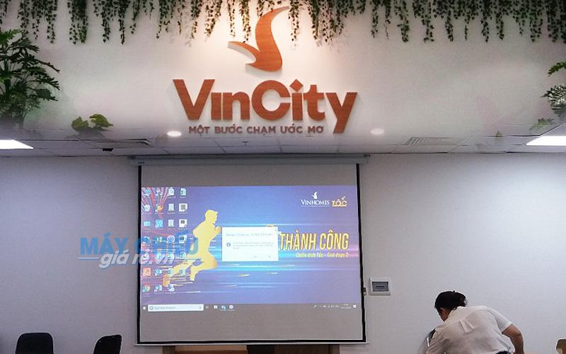 Lắp đặt máy chiếu Epson EB-2042 cho phòng họp tại VinCity Hà Nội