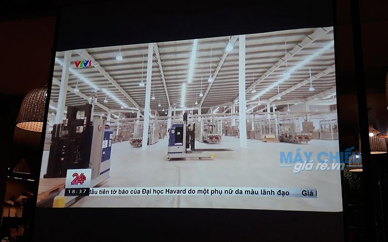 Lắp đặt máy chiếu Epson EB-X05 cho quán Sapa Coffe tại Quận Gò Vấp